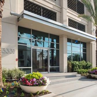 artistic condo exterior entrance