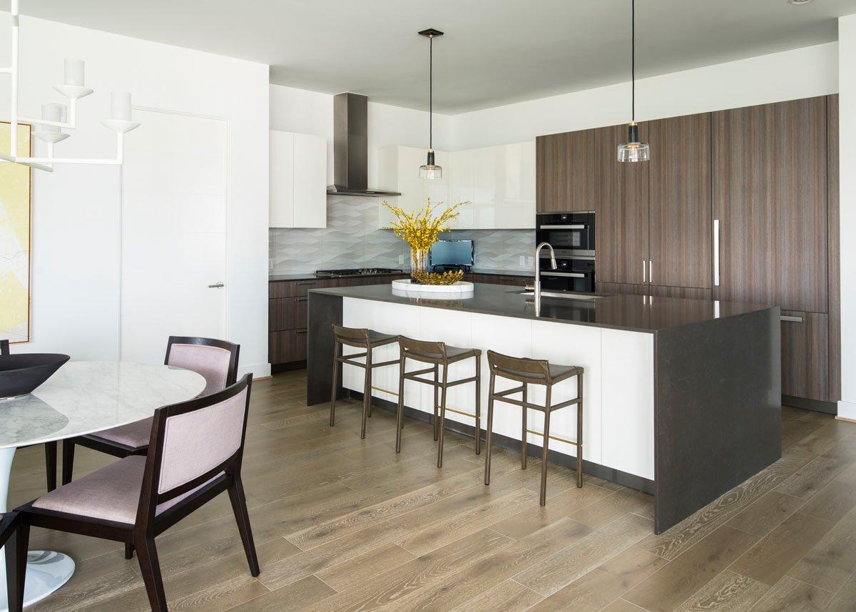 custom modern condo kitchen