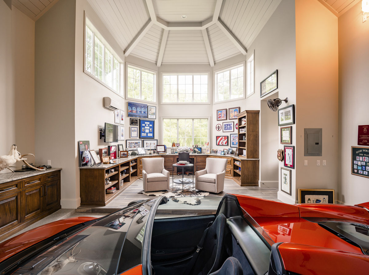 tudor custom garage