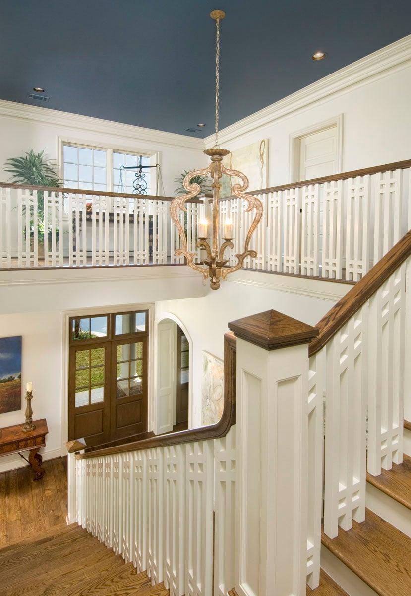 custom louisiana acadian staircase
