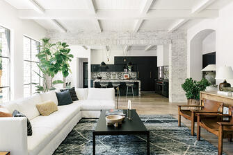 Tanglewood Green Tree living room
