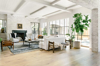 houston english manor living room