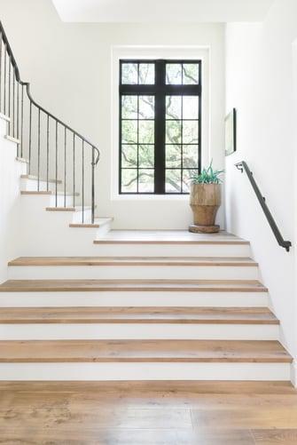 luxury english manor staircase