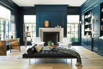 english manor fireplace