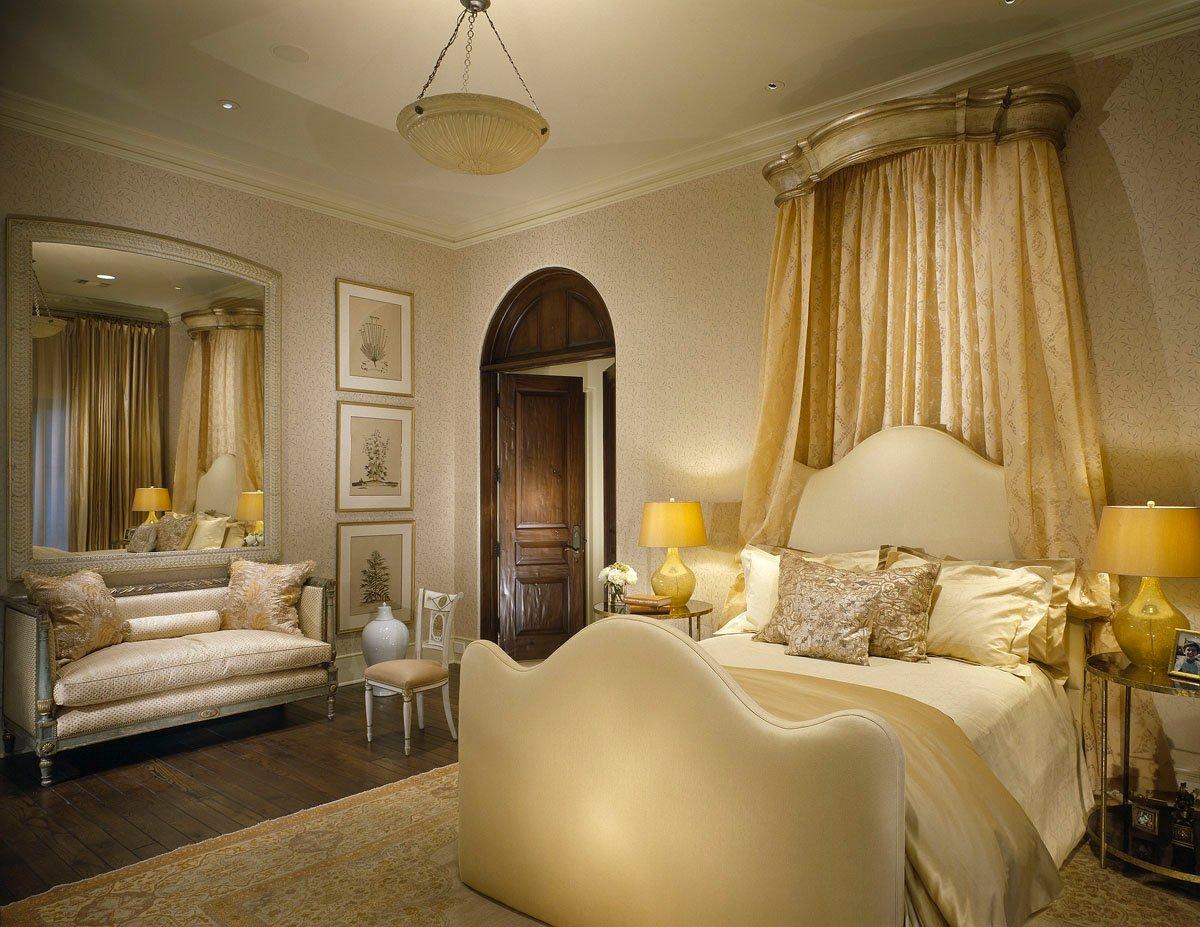 custom classic mediterranean bedroom