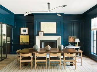 houston english manor dining room table