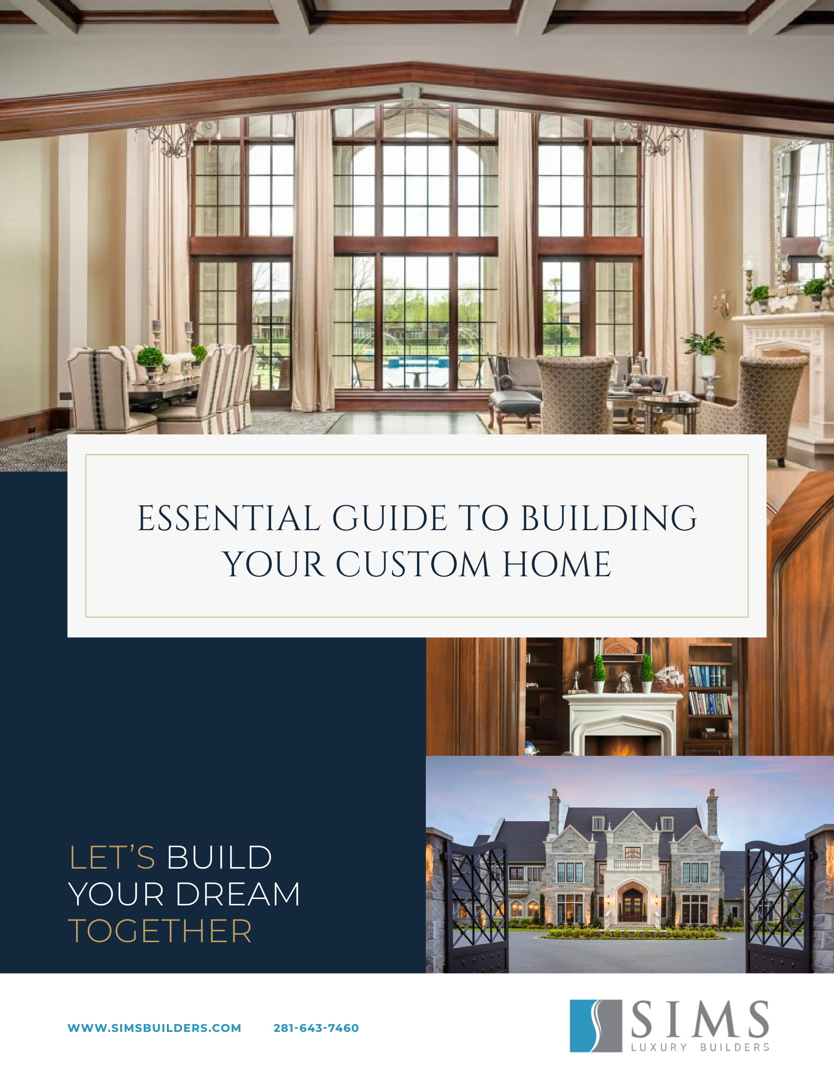 Essential Guide to Building Your Custom Home - eBook cover
