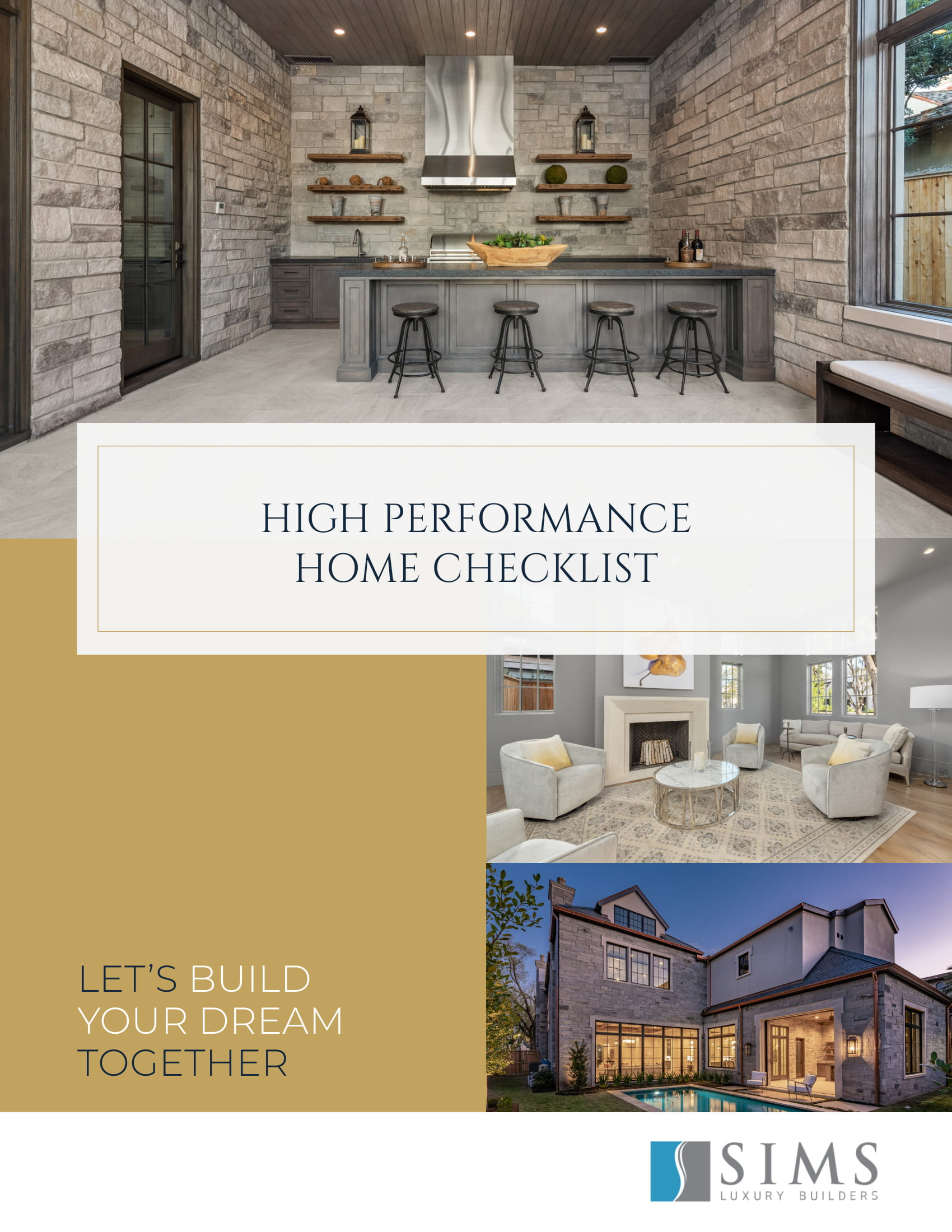 High Performance Home Checklist